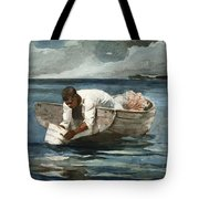 The Water Fan Tote Bag