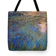 The Water Lily Pond 1914 1917 Tote Bag