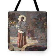 The Wedding At Cana Tote Bag