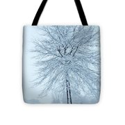 The Winter Tree  Tote Bag by Lori Frisch