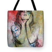 The Withering Spring Tote Bag
