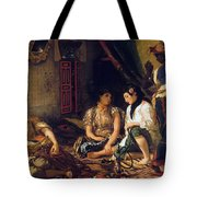 The Women Of Algiers In Their Apartment Tote Bag