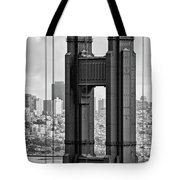 The World Famous Golden Gate Bridge In San Francisco, California Tote Bag