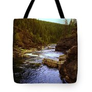 The Yak River Tote Bag