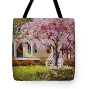 The Yellow Porch Tote Bag