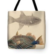 The Zoology Of Captain Tote Bag