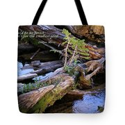 There Would Be No Forest... Tote Bag