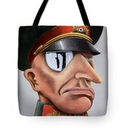 This Is The Enemy - Ww2 Poster Tote Bag