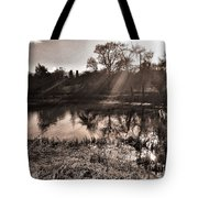 Thornton Reservoir, Leicestershire Tote Bag