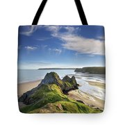 Three Cliffs Bay 5 Tote Bag