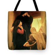 Three Marys At The Tomb Tote Bag
