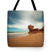 Thunder Cove Sea Arch And Flowerpot Rock Tote Bag