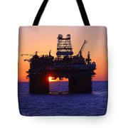 Thunder Horse At Sunset Tote Bag