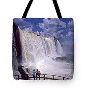 Thundering Water Tote Bag