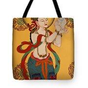 Tibetan Buddhist Mural Tote Bag