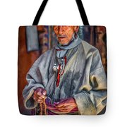 Tibetan Refugee - Paint Tote Bag
