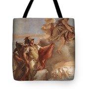 Tiepolo Villa Valmarana Venus Appearing To Aeneas On The Shores Of Carthage Giovanni Battista Tiepolo Tote Bag