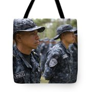 Tigres Commandos Stand In Formation Tote Bag
