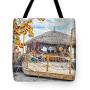 Tiki Bay Island  Tote Bag