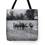 Tilling The Fields Tote Bag