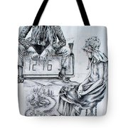 Time Between Women Tote Bag