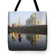 Timeless Taj Mahal Tote Bag