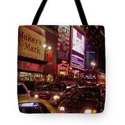 Times Square Night Tote Bag