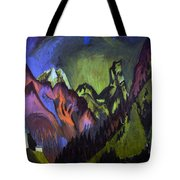 Tinzenhorn Zugen Gorge Near Monstein Tote Bag