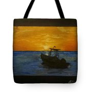 Tobago Sunset Tote Bag