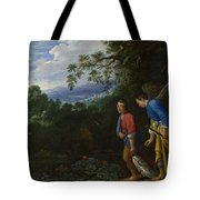 Tobias And The Archangel Raphael Tote Bag