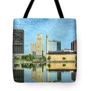 Toledo Skyline Tote Bag