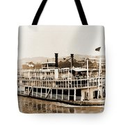 Tom Greene River Boat Tote Bag