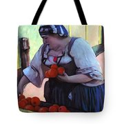 Tomatoe Lady Tote Bag