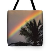 Top Of A Palm Tree Tote Bag