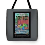Torn Fox Tote Bag