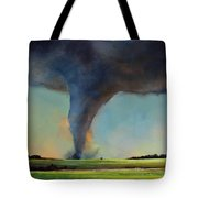 Tornado On The Move Tote Bag