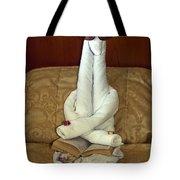 Towel Artistry Tote Bag