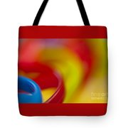 Toy Abstract Tote Bag