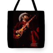 Toy Caldwell Of Themarshall Tucker Band At The Cow Palace Tote Bag