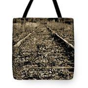 Tracks  To Where Tote Bag