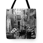 Traditional Venetian Gondolier Tote Bag