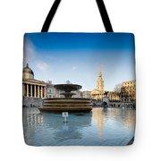 Trafalgar Square National Gallery Tote Bag