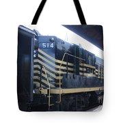 Trains Tote Bag