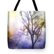 Tree On Vine Tote Bag