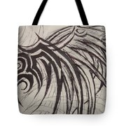 Tribal Wing Sketch Tote Bag