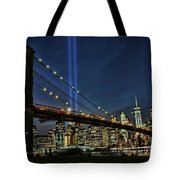 Tribute In Light # 1 Tote Bag
