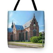 Trinity Church In Kristianstad Tote Bag