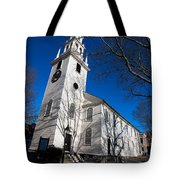Trinity Church Newport Rhode Island Tote Bag
