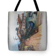 Trip To Chew's Bridge Tote Bag