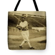 Tris Speaker With Boston Red Sox 1912 Tote Bag